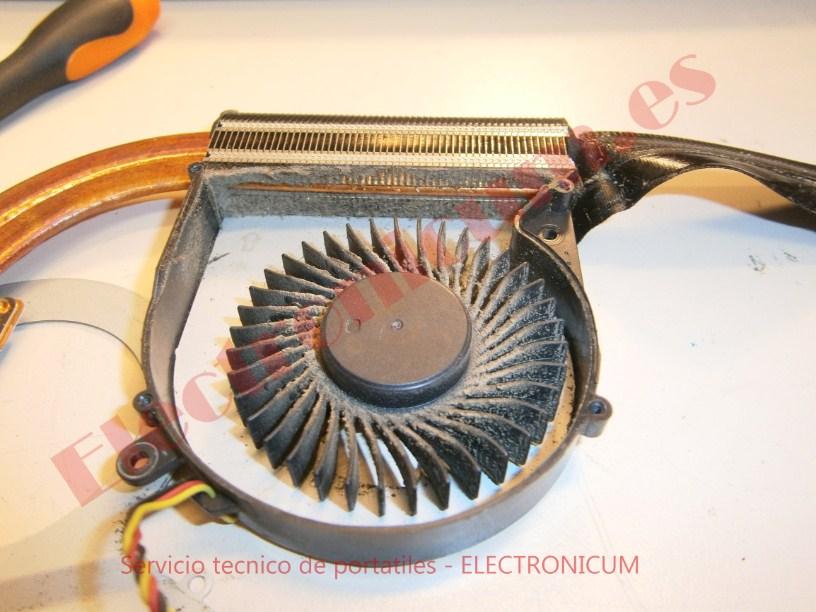 limpiar ventilador Toshiba
