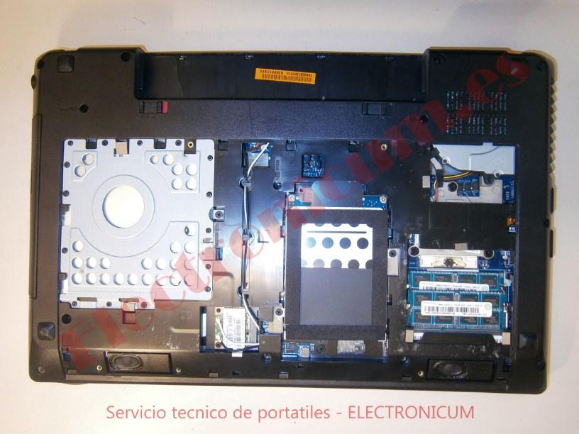 desmontar Lenovo G580