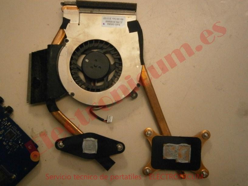 ventilador Samsung R540