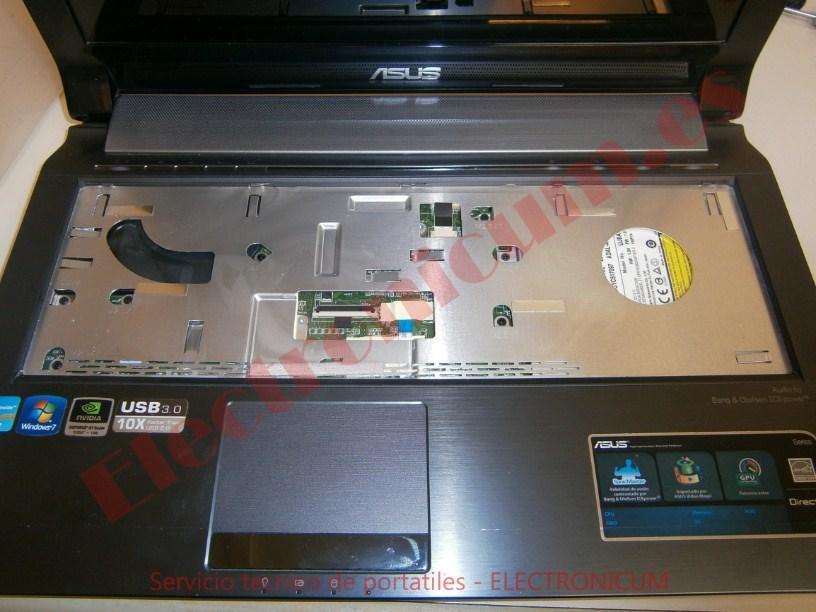 Desmontar portatil Asus