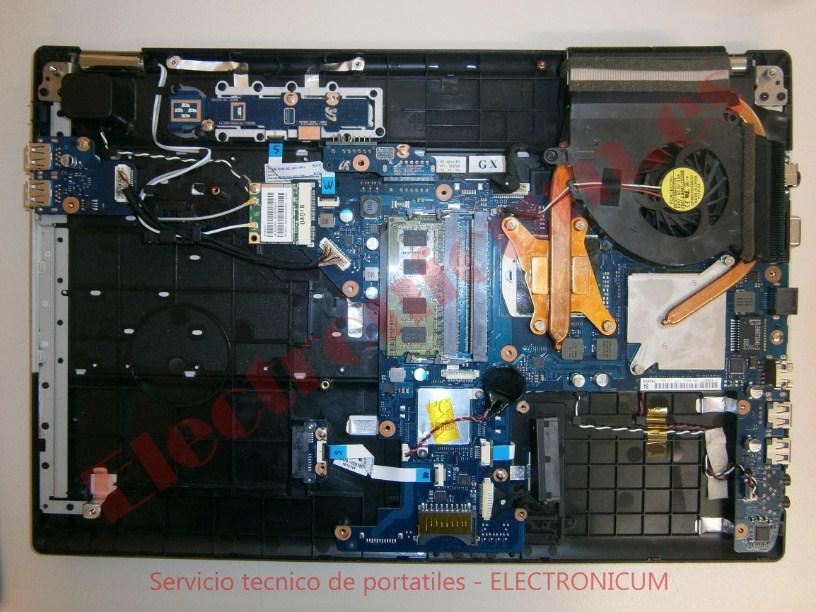 Desmontar portatil Samsung