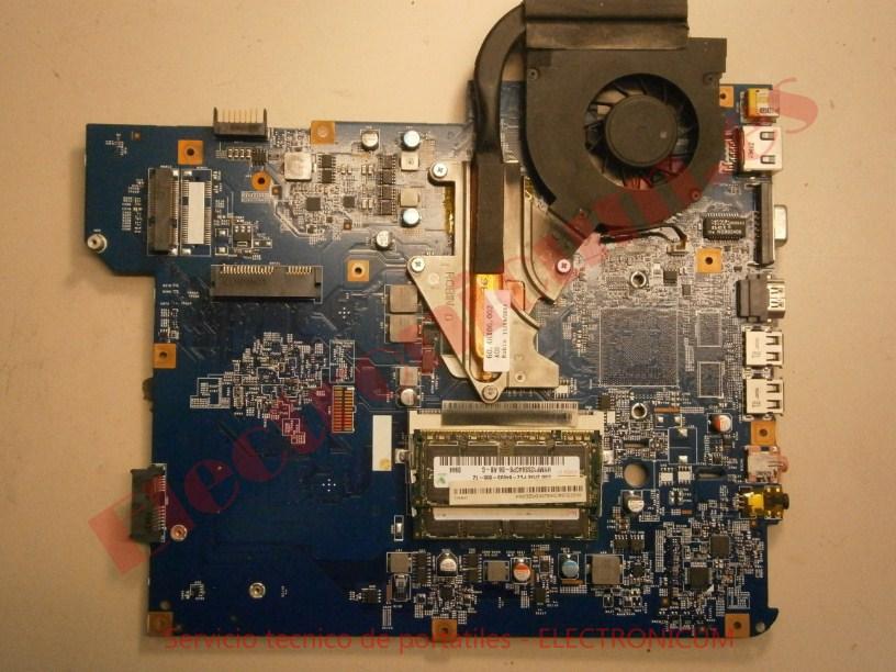 Placa base Packard Bell