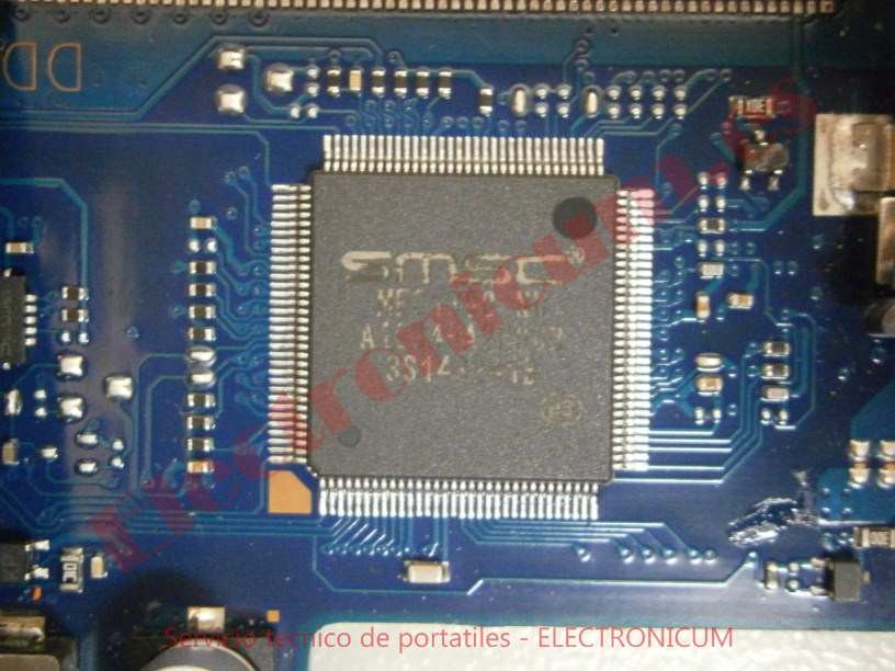 Reparar placa a nivel de componentes
