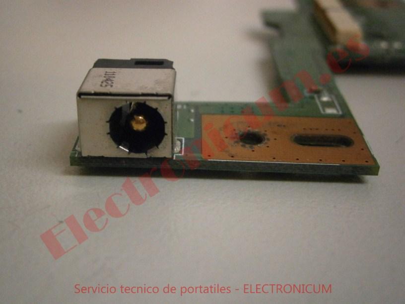 reparar dc jack Asus N53S