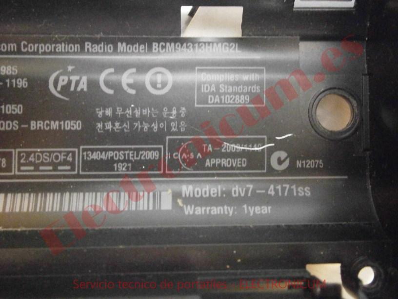 Bateria HP DV7