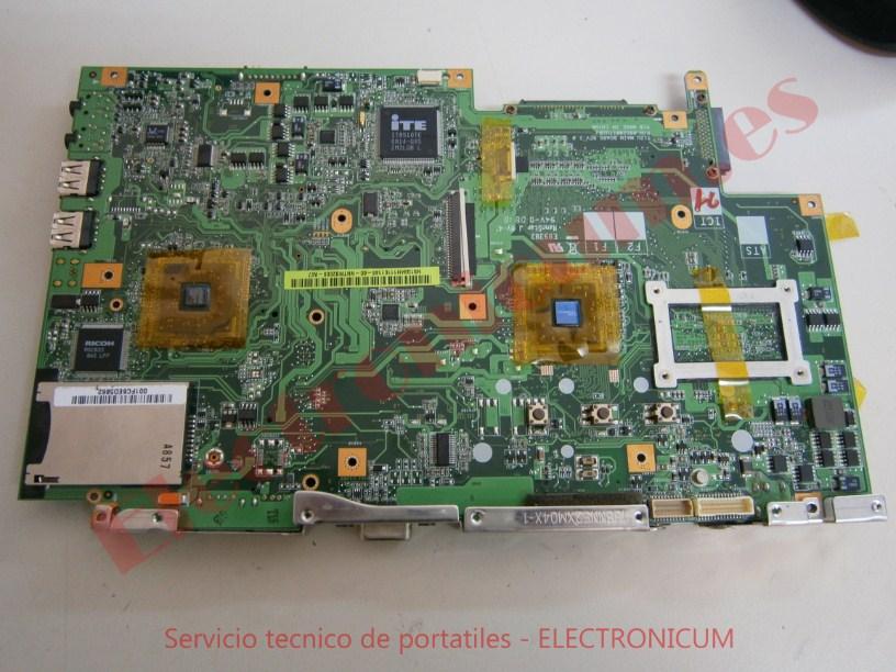 Reparar placa base Packard Bell ALP-Ajax A