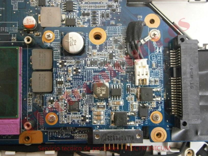 reparar corto Sony Vaio