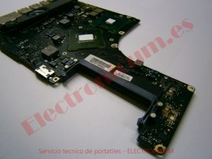 reparar placa base macbook