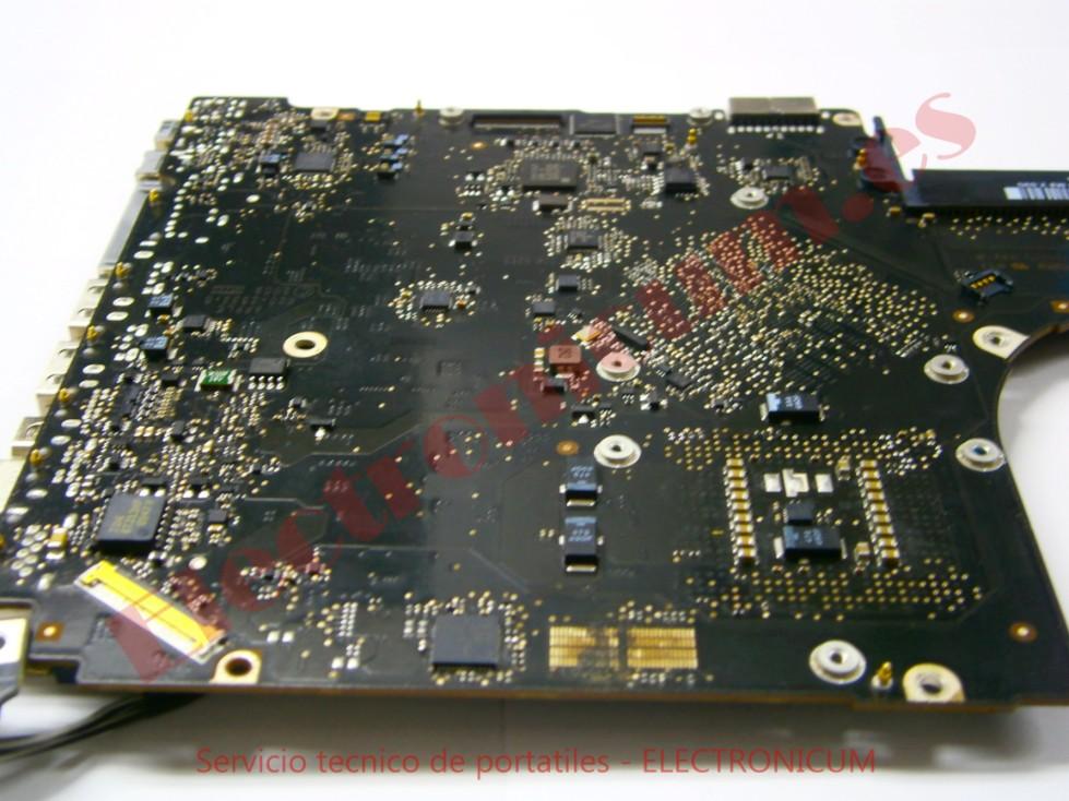 Reparacion placa base macbook pro no enciende
