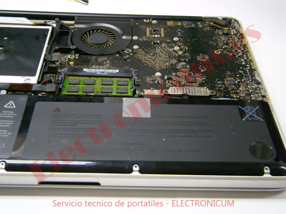 Arreglar macbook