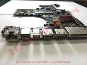 placa base macbook pro 15