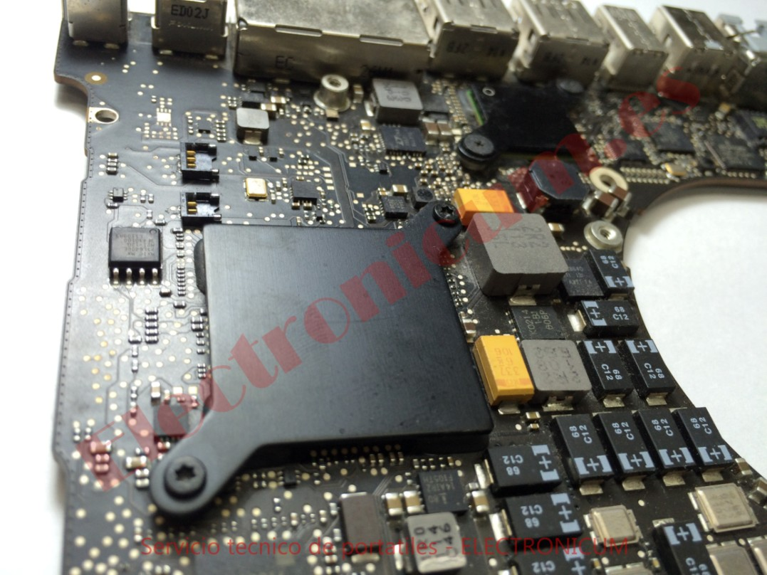 placa base macbook pro